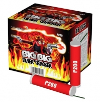 Петарды Big big silver cracker P200 (1 пачка, 36 шт)